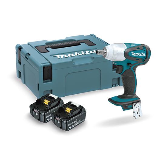 Azul con motor BL sin escobillas MAKITA 0088381803502 Llave de impacto de bater/ía de 18V litio-ion con 1.000 Nm de par de apriete
