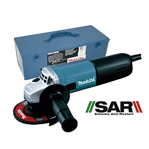 9557NBRK1 - Miniamoladora 115mm 840W SAR