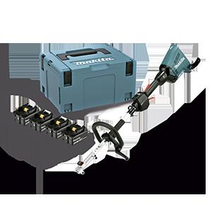 Motor Multifunción 18Vx2 LXT + Kit 4 baterías 5.0Ah