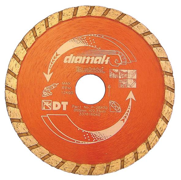 Disco de diamante diamak turbo for Disco de diamante