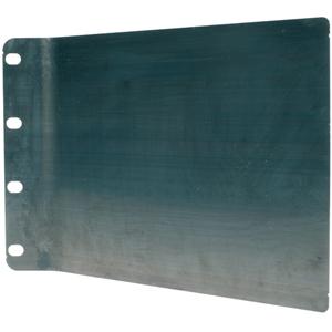 Placa metálica