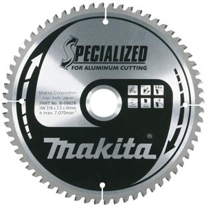 Disco especial aluminio HM 216/30/64D