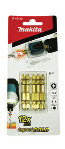 Blíster de 5 puntas PZ2 Impact Gold + Mag Boost