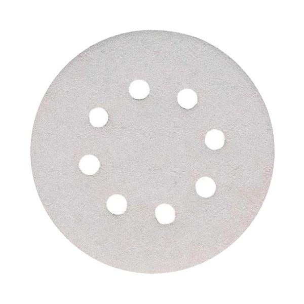 Disco de lija perforado velcro G120 Especial pintura