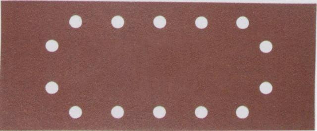 Lija de velcro perforada 115mm x 228mm G80