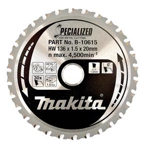 Disco HM 136/20/50D Batería especial metal