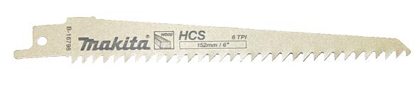 Sierra de sable HCS 152mm