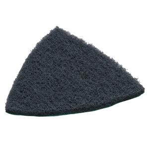 Abrasivo de lana triangular de velcro