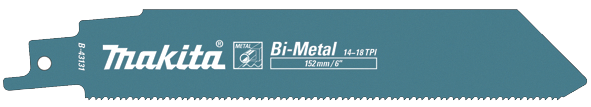 Sierra de sable 152mm Bimetálica