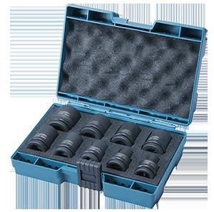 D-41517 - Estuche de llaves de vaso 9 piezas