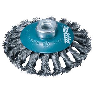 Cepillo oblicuo de acero trenzado 175mm