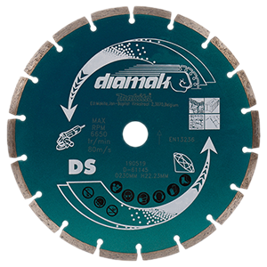 Disco de diamante Diamak segmentado