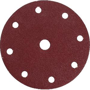 Disco de lija perforado con velcro G120