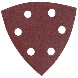 Lija de velcro triangular
