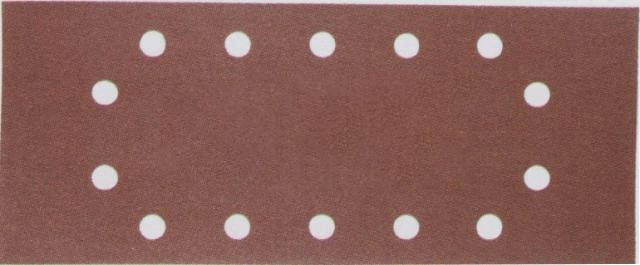 Lija de velcro perforada 115mm x 228mm G100