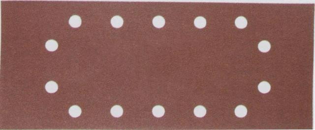 Lija de velcro perforada 115mm x 228mm G240