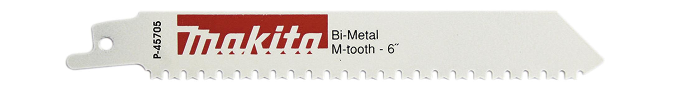 Sierra de sable 130mm bimetálica diente en