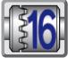16 posiciones de embrague